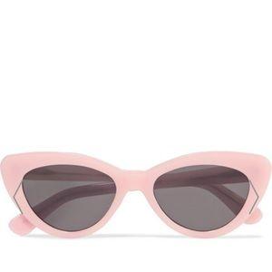 New Illestava Pamela Cat Eye Sunglasses Pink Gray